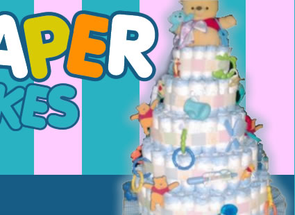 Pampers Cakes Instructions
